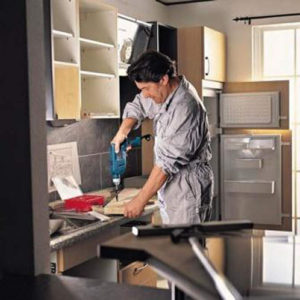 Сборка и установка кухни