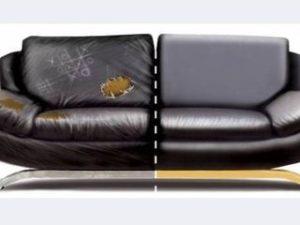 Перетяжка кожаного дивана в Саранске
