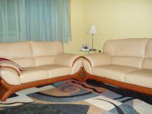 Перетяжка кожаной мебели в Саранске