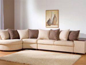 Перетяжка углового дивана на дому в Саранске